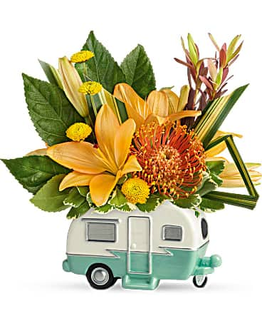 Cru Vacationer bouquet bouquet de de Teleflora