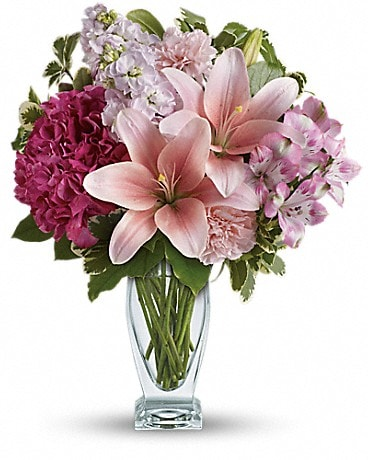 Bouquet Rougir d'amour de Teleflora