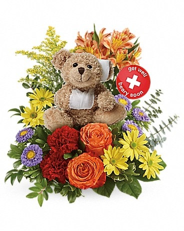 Bouquet Prompt rétablissement de Teleflora